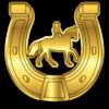 Motivationsabzeichen Goldenes Hufeisen