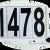 Magnetische Startnummern 2er Set